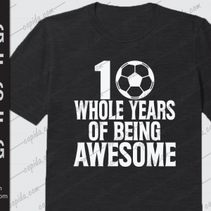 10 whole years of being awesome