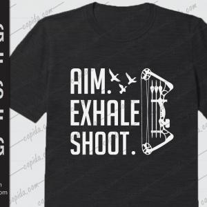 Aim exhale shoot