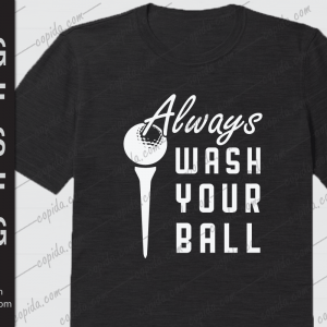 Always wash your ball