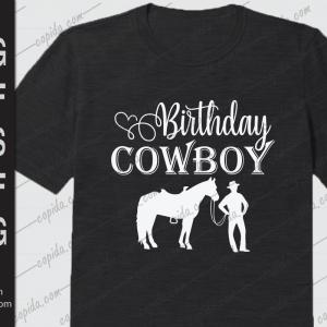 Birthday cowboy