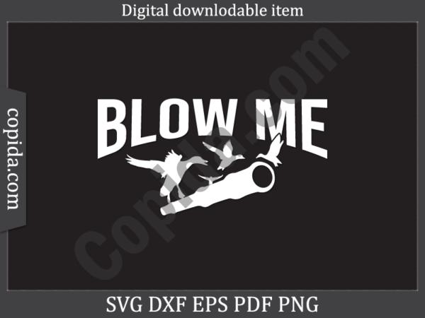 Blow me svg