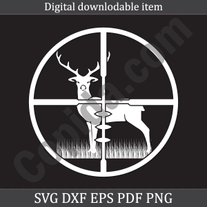 Deer hunting svg