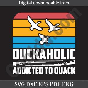 Duckaholic addicted to quack