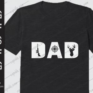 Hunting dad svg