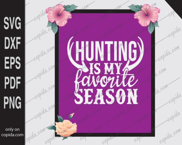 Hunting is my favorite season