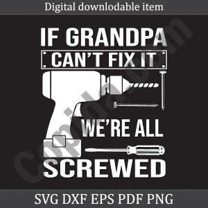 If grandpa can't fix it we're all screwed