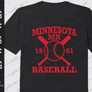 Minnesota mn 19 61 baseball