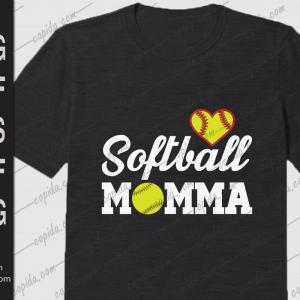 Softball momma