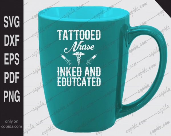 Tattooed nurse inked and educated