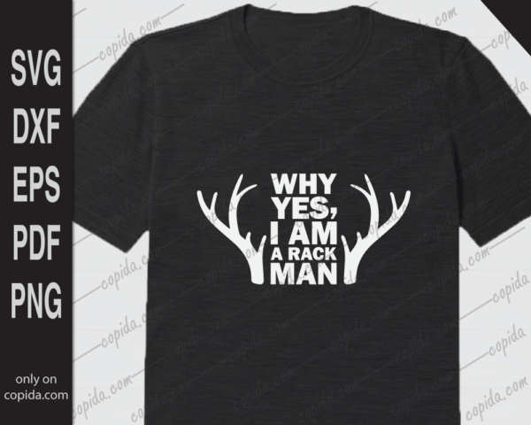 Why yes, I am a rack man svg