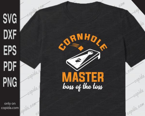 Cornhole master boss of the toss