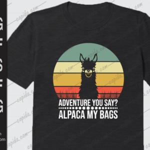Adventure you say alpaca my bags