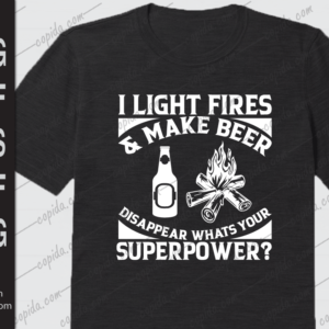 I light fires & make beer disappear whats your superpower
