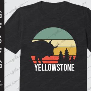Vintage Yellowstone National Park Retro Travel